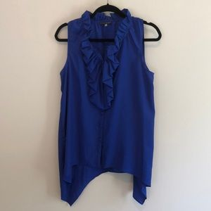 Lk NEW Pure Sugar silk-like top blouse stunning M